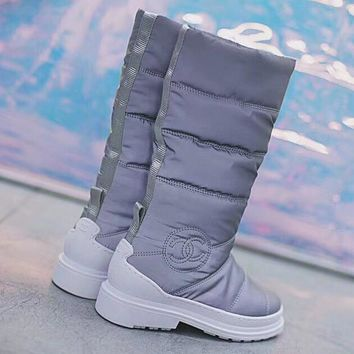 Chanel Women Fashion Snow Boots Shoes