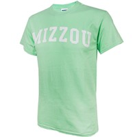 The Mizzou Store - Mizzou Mint Green Crew Neck T-Shirt