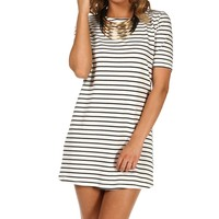 White Stripe Tunic