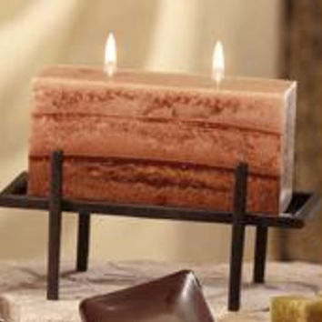 4 Candle Holders - Brick
