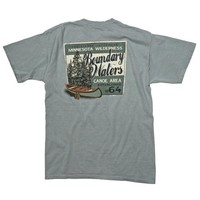 Wilderness Canoe T-Shirt - Men's Shirts - Men's - Clothing - Store Goods :: Duluth Pack :: Made in the USA :: Quality leather and canvas luggage, backpacks, camping, and outdoor gear,
