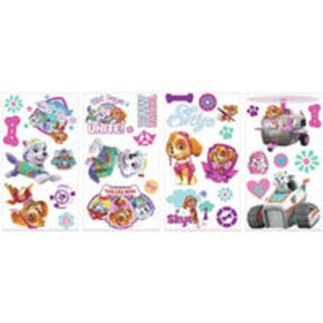 Paw Patrol Girl Pups Peel & Stick Wall Decals