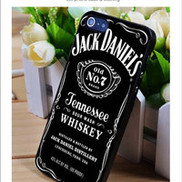 jack daniels whiskey iPhone for 4 5 5c 6 Plus Case, Samsung Galaxy for S3 S4 S5 Note 3 4 Case, iPod for 4 5 Case, HtC One for M7 M8 and Nexus Case