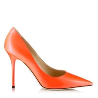 Neon Flame Patent Pointy Toe Pumps | Abel | Spring Summer 2014 | JIMMY CHOO Pumps