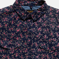 10Deep | Tops | Tribes Button Down - Navy Roses