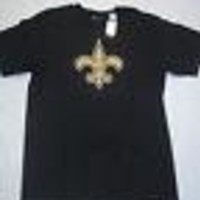 NEW ORLEANS SAINTS SHORT-SLEEVE NFL TSHIRT SHIPPING!