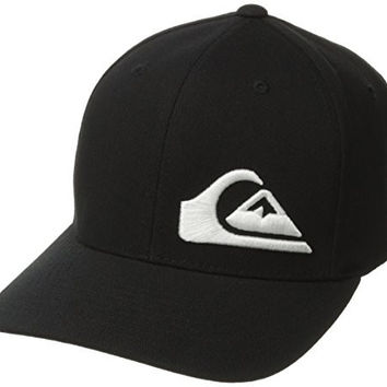 Quiksilver Men's Final Hat, Black, Small/Medium