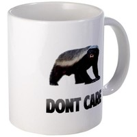 Honey Badger Dont Care Mug by TrendsForWins- 550544131