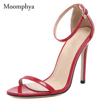 New arrive shoes women sexy pumps women sandals zapatos mujer round toe high heels wedding party women shoes plus size 35-40