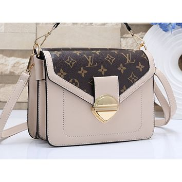 LV Fashion Printed Color Lady's Single Shoulder Bag Shopping Bag
