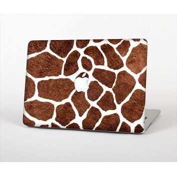 The Real Giraffe Animal Print Skin Set for the Apple MacBook Air 11""