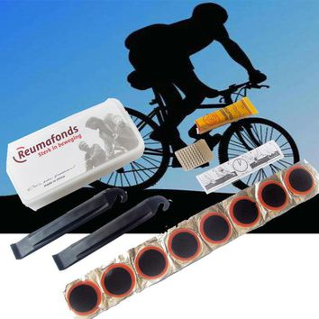 Portable,Bike-Tire Repair Tools, Bicycle Accessories, Motorcycle, with Patch Glue Lever