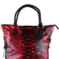 Women's American Nightmare Hand Bag - Red