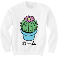 CALM CACTUS SWEATER