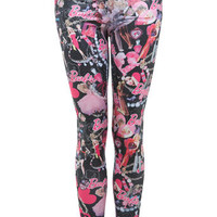 Barbie Allover Print Legging