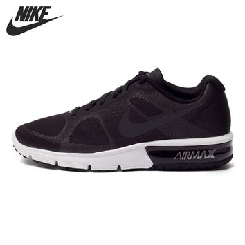 Original NIKE AIR MAX SEQUENT Men's Running Shoes Low top Sneakers