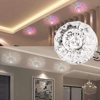 High Quality 3W/5W LED Modern Crystal Ceiling Light Fixture Lamp Lighting