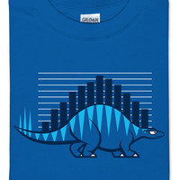Datasaurus T-Shirt - Royal Blue,