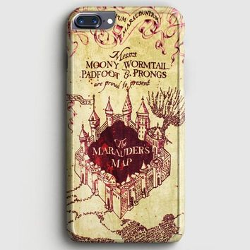 MarauderS Map Harry Potter iPhone 8 Plus Case | casescraft
