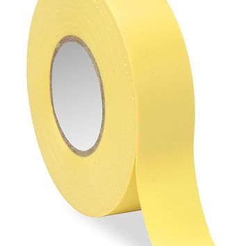 "Electrical Tape - 3/4"" x 20 yds, Yellow S-6752 - Uline"