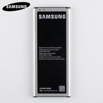 Original Replacement Battery EB-BN910BBE For Samsung GALAXY NOTE 4 N910u N910F N910H N910 NOTE4 SM-N910C SM-N910K N910FQ 3220mAh