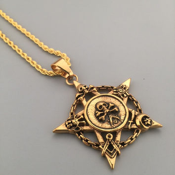 Gift New Arrival Shiny Jewelry Stylish Hot Sale Fashion Hip-hop Club Necklace [6542784579]