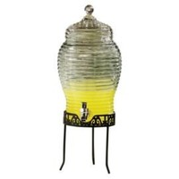 One Kings Lane - Outdoor Grilling - Buzz Glass Beverage Dispenser