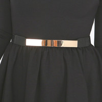 MINI GOLD METAL BELT