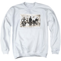 BREAKFAST CLUB/MUGS - ADULT CREWNECK SWEATSHIRT - WHITE -