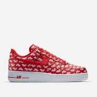 Nike Sportswear Air Force 1 '07 QS AH8462 600 | University Red/White | Footwear - Naked