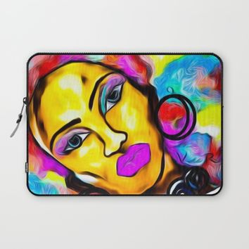 AFROTASTIC Laptop Sleeve by violajohnsonriley