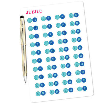 Planner Stickers Contact Lens Care