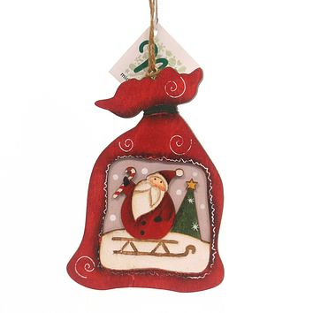 Holiday Ornaments WOOD ORNAMENTS Wood Package Holiday 144259 S