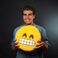 Emoji Pillows® - Grin