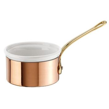 Copper Butter Warmer w/Porcelain Insert