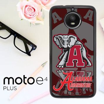 Alabama Crimson Tide X3309 Motorola Moto E4 Plus Case