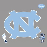 North Carolina Tar Heels Logo, Fathead