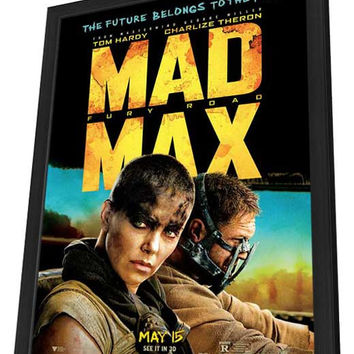 Mad Max: Fury Road 27x40 Framed Movie Poster (2015)