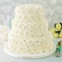 Rose Assorted Wedding Cake