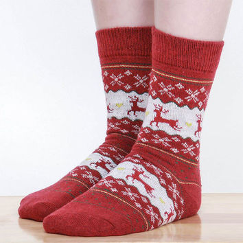 High Quality Christmas Warm Socks