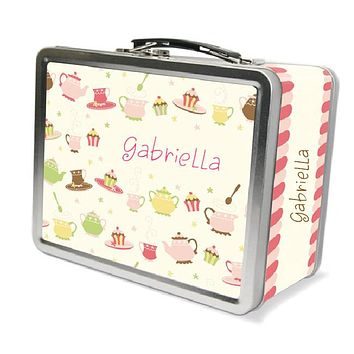 Tea Party Dishes Lunchbox