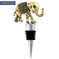 Gold Elephant Bottle Stopper | Hobby Lobby