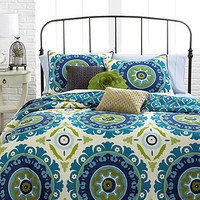 Suzani 3 Piece Full/Queen Duvet Cover Set - Duvet Covers - Bed & Bath - Macy's