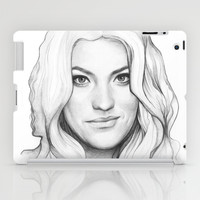 Debra Morgan Portrait (DEXTER) iPad Case by Olechka