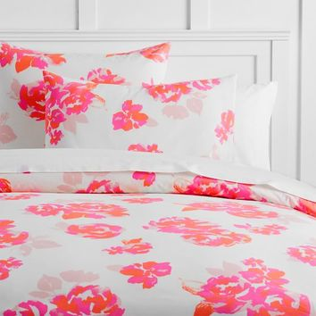 The Emily & Meritt Neon Rose Duvet Cover + Sham
