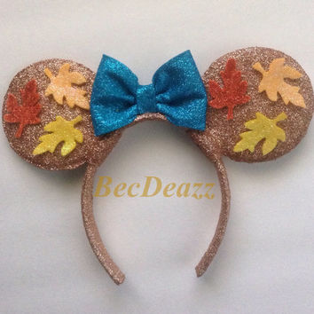 Disney Pocahontas Minnie Mouse ears headband