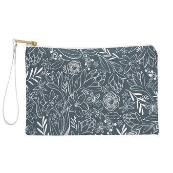 Heather Dutton Botanical Sketchbook Midnight Pouch