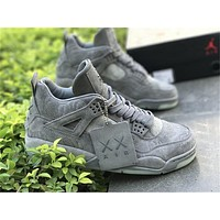 2017 Kaws X Air Jordan Retro 4 Mens Basketball Shoes Sneakers Size Us 5.5 13 | Best Deal Online