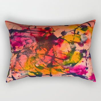 Summer Fling Rectangular Pillow by duckyb