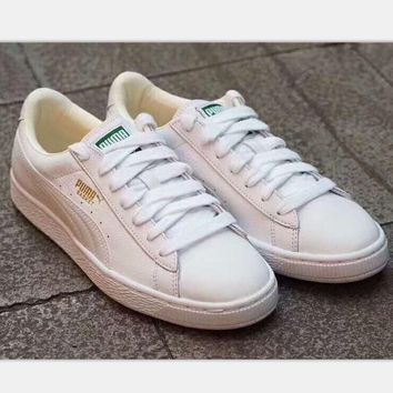 Puma Suede Classic Bboy Women Casual Running Sport Shoes Sneakers white H-A-GHSY-1